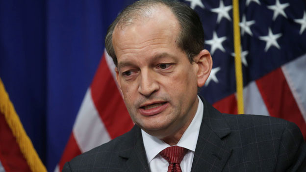 US-Arbeitsminister Alexander Acosta.