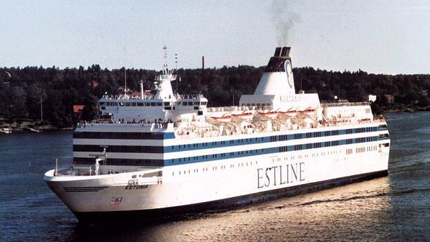 Die Passagierfähre «Estonia» mit 867 Personen sank Anfang September vor Südwestfinnland in einem Sturm.