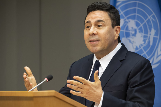 Venezuelas UNO-Botschafter Samuel Moncada