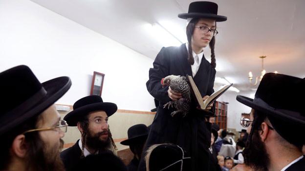 Ultraorthodoxe Juden in Jerusalem, Israel. Symbolbild.