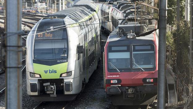 Kompromiss im Streit zwischen SBB und BLS.