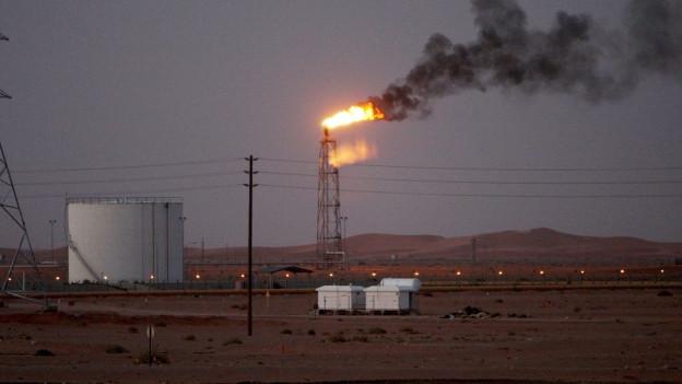 Nach Angaben von Aramco wurde unter anderem das Khurais-Ölfeld angegriffen.