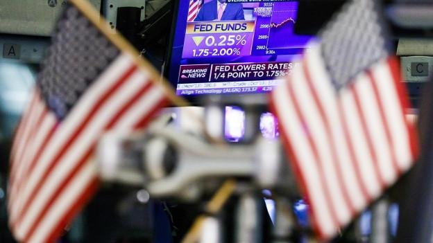 Die US-Notenbank senkt den Leitzins erneut.