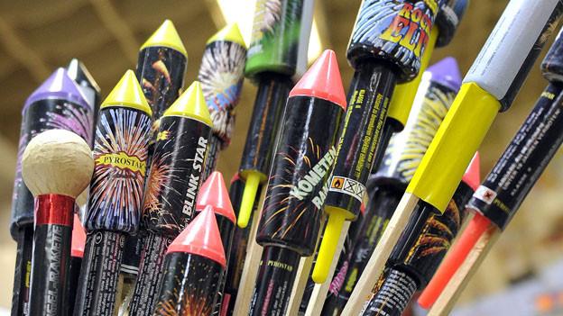Feuerwerk und Knallkörper am 1. August und an Silvester erlaubt