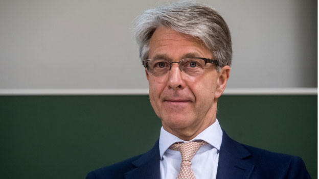 Herbert Scheidt, Präsident der Schweizerischen Bankiervereinigung.