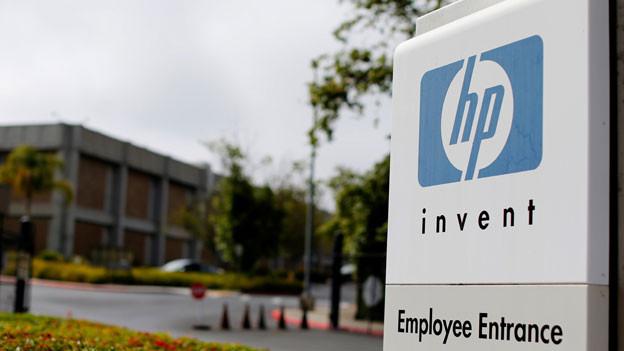 Eingang zu Hewlett-Packard Co. Rancho Bernardo, California.