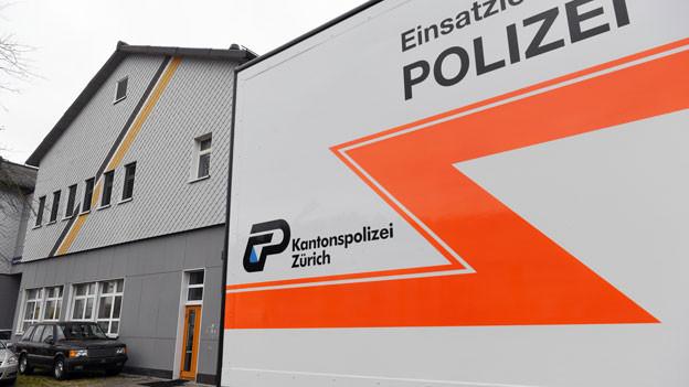 Polizei-Razzia in der An'Nur-Moschee in Winterthur, am Mittwoch, 2. November 2016