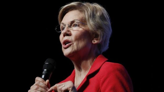 Die USA-Senatorin Elizabeth Warren ist im Nominierungsverfahren der Demokraten als Präsidentschaftsherausforderin von Donald Trump in guter Position.
