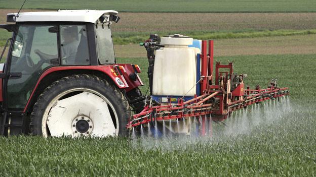 Im Schweizer Trinkwasser hat es zu hohe Rückstände von Chlorothalonil, das am meisten in der Landwirtschaft verwendet wird.