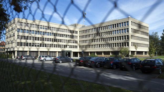 Sicht auf den Sitz des Departements VBS, wo auch der Nachrichtendienst des Bundes (NDB) ansässig ist.