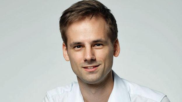 Martin Aldrovand, SRF-China-Korrespondent.