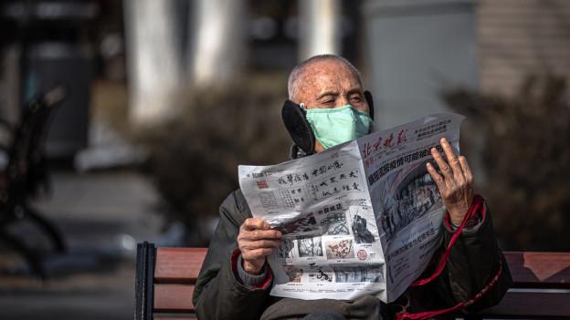 Trotz Coronavirus: Zum Teil kehrt in China wieder der Alltag ein.
