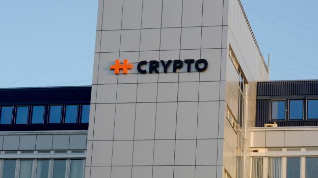 Hauptsitz der Zuger Firma Crypto AG im Kanton Zug.