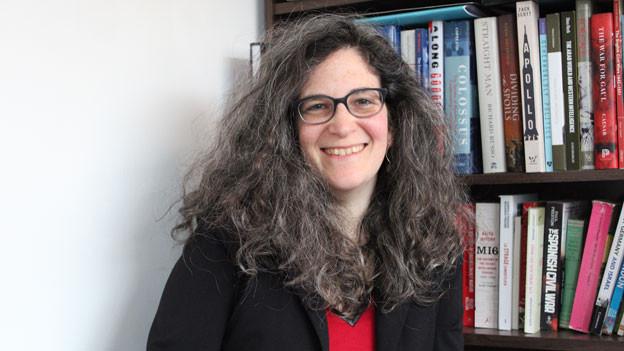 Aviva Guttmann, Historikerin und Geheimdienstexpertin.