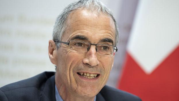 Serge Gaillard, Direktor der Eidgenössischen Finanzverwaltung.