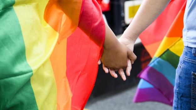 In der Öffentlichkeit gleichgeschlechtliche Beziehungen leben: In der Romandie ein gesellschaftliches Tabu.