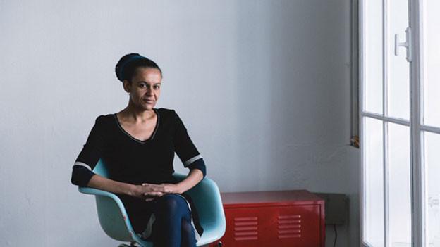 Yeboaa Ofosu., Kulturwissenschaftlerin und Ghana-Schweizerin.