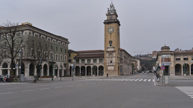 Der Bürgermeister von Bergamo warnt vor Kollaps.