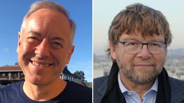 Bruno Kaufmann und Daniel Voll.