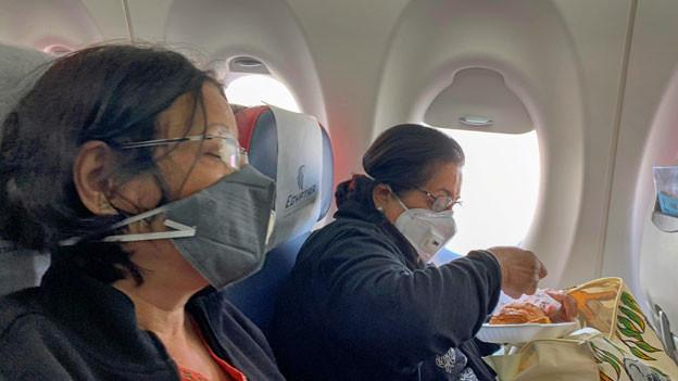 Maskenpflicht im Flugzeug?