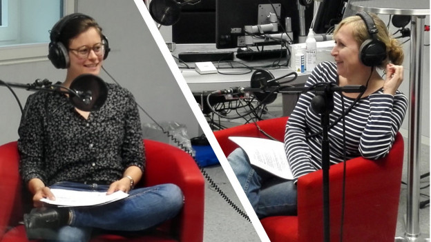 Die raffinierte Lüge 2: Im Studio sind Maj-Britt Horlacher (links) und Nicoletta Cimmino.