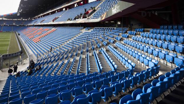 Bald könnten sich die Reihen wieder füllen. Aber alle Besucher im Stadion müssen mit Namen registriert sein.