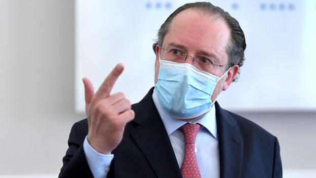 Österreichs Aussenminister Alexander Schallenberg in Wien am 3. Juni 2020.