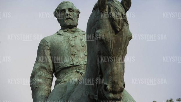 Eine der umstrittenen Statuen: Sie zeigt Bürgerkriegsgeneral und Sklavereibefürworter Robert E. Lee