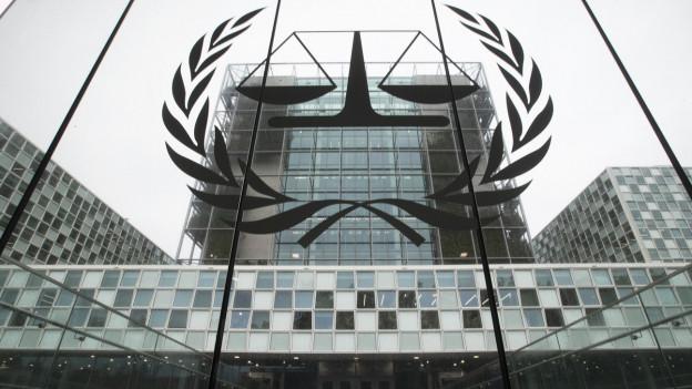 Der international criminal court ICC in Den Haag 2019.