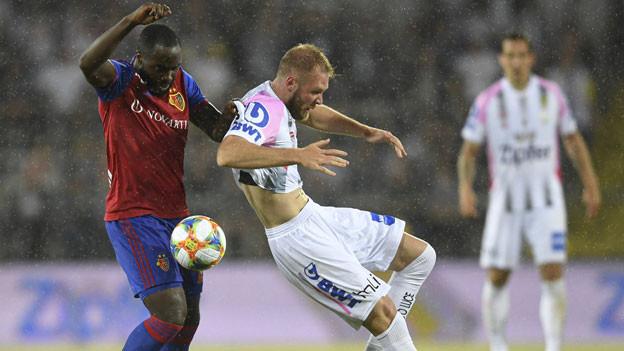 Dritte Qualifikationsrunde der UEFA Champions League, Rückspiel zwischen LASK und dem FC Basel in Linz.