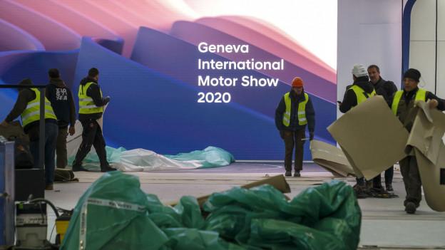 Die 90. Ausgabe des Internationalen Automobil-Salons, die am 5. März 2020 hätte beginnen sollen, wurde wegen des Coronavirus abgesagt.
