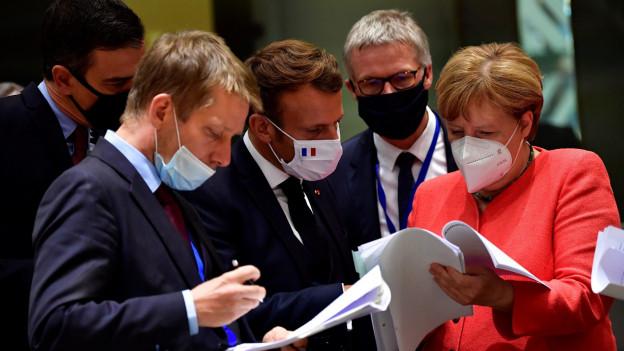 Die EU Regierungschefs haben sich auf ein Rettungspaket geeinigt