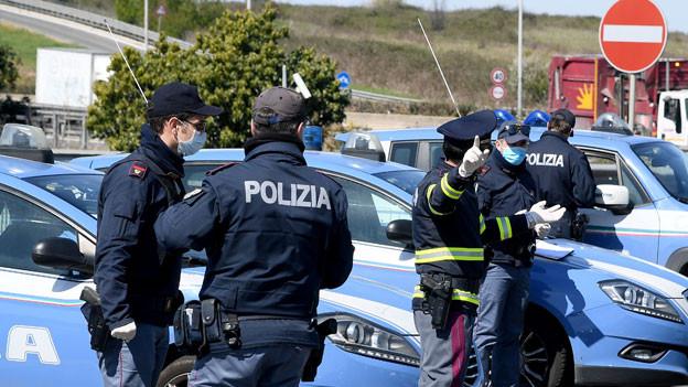 Anti-Mafia-Schlag in Italien und der Schweiz. Symbolbild.