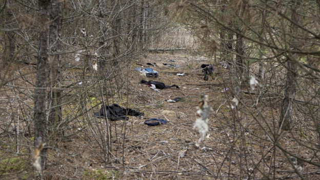 Spuren illegaler Einwanderung an der Südgrenze Ungarns.