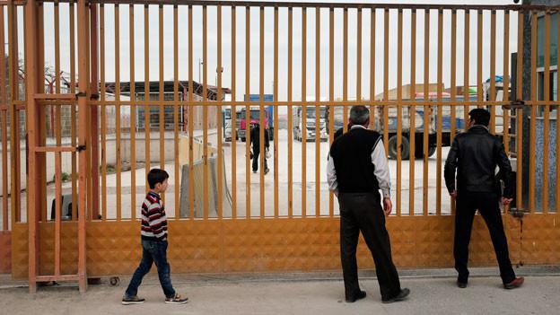 An der syrisch-türkischen Grenze ist für die Menschen auf der Flucht Endstation.