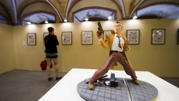 Das Comicfestival «Fumetto» in Luzern im Jahr 2012