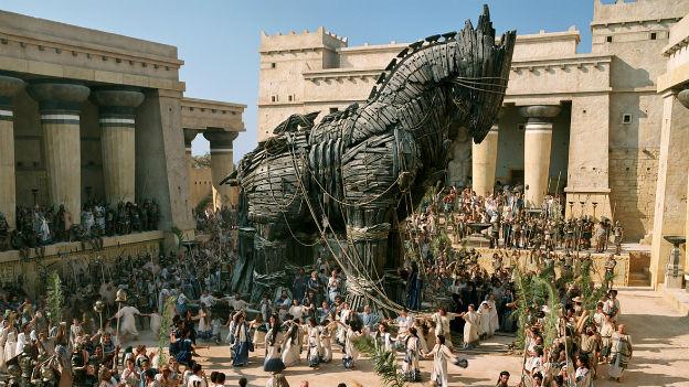 Troja: Einfluss aus der Antike