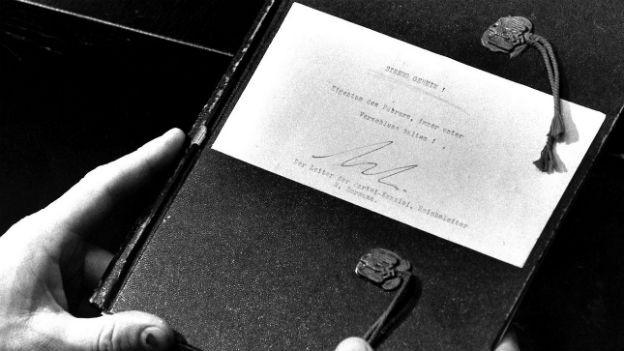 Die gefälschten Hitlertagebücher wurden im Stern abgedruckt.