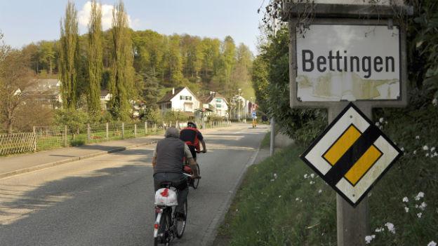 1944 flüchtete Anette Blohm über die Grenze nach Bettingen BS.