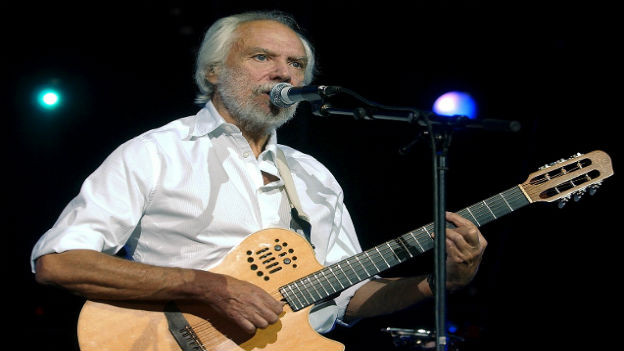 Georges Moustaki am Paléo-Festival in Nyon (2004)