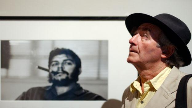 René Burri und sein berühmtes Guevara-Bild.