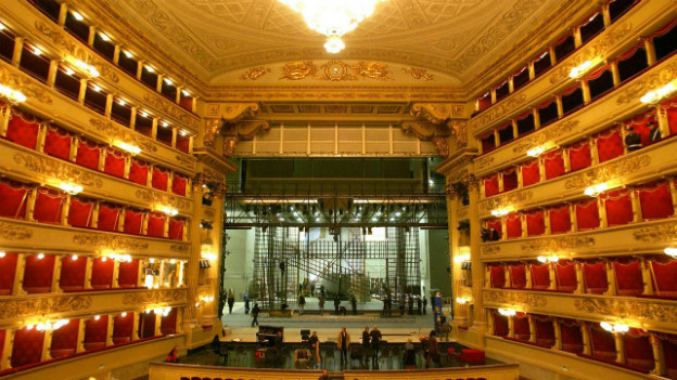 Mailänder Scala: Die Nummer 1 unter den Opernhäuser in Italien.