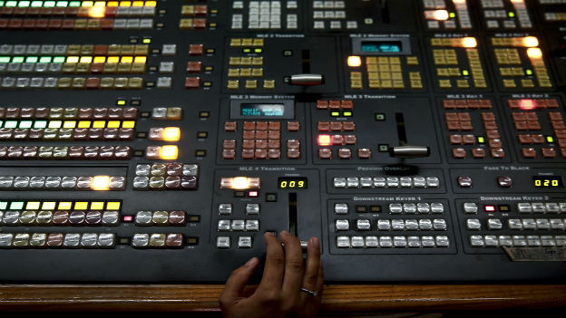 Aufnahmestudio.