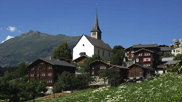 Das Walliser Dorf Ernen erhält den Prix Montagne.