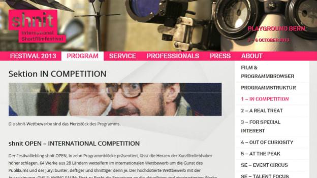 Das «Shnit International Shortfilm-Festival» beginnt am Mittwoch unter anderem auch in Bern.