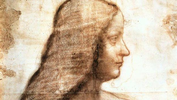 Diese Frau könnte auf dem Bild zu sehen sein: Zeichnung von Isabella D'Este.