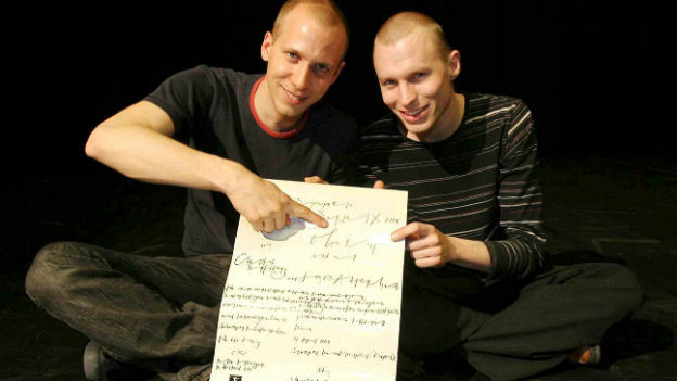 «Ohne Rolf», das sind Jonas Anderhub (links) und Christof Wolfisberg (rechts), wurden schon 2004 in Thun mit dem SurPrix ausgezeichnet.