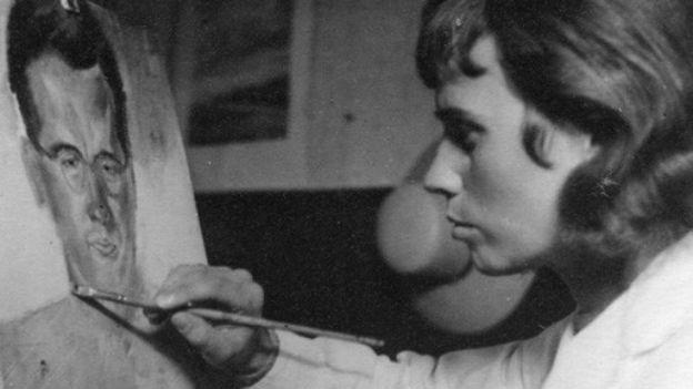 Gisela malt Alfred