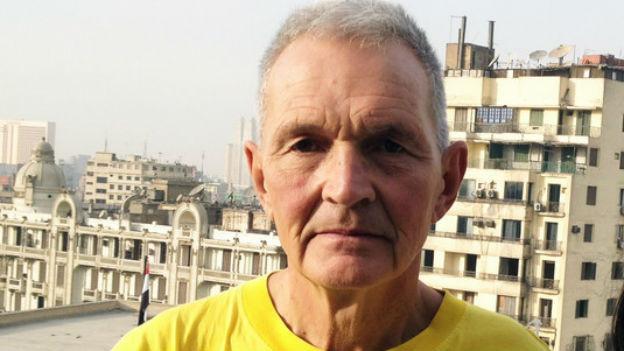 Hat ein halbes Jahr in der Nähe von Kairo verbracht: der winterthurer Holzschnittkünstler Duri Galler.