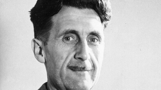 George Orwell, der das Jahr 1984 erfand